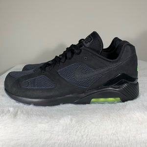 new product 43f66 df79e Nike · Nike Air Max 180 Night Ops Black Volt